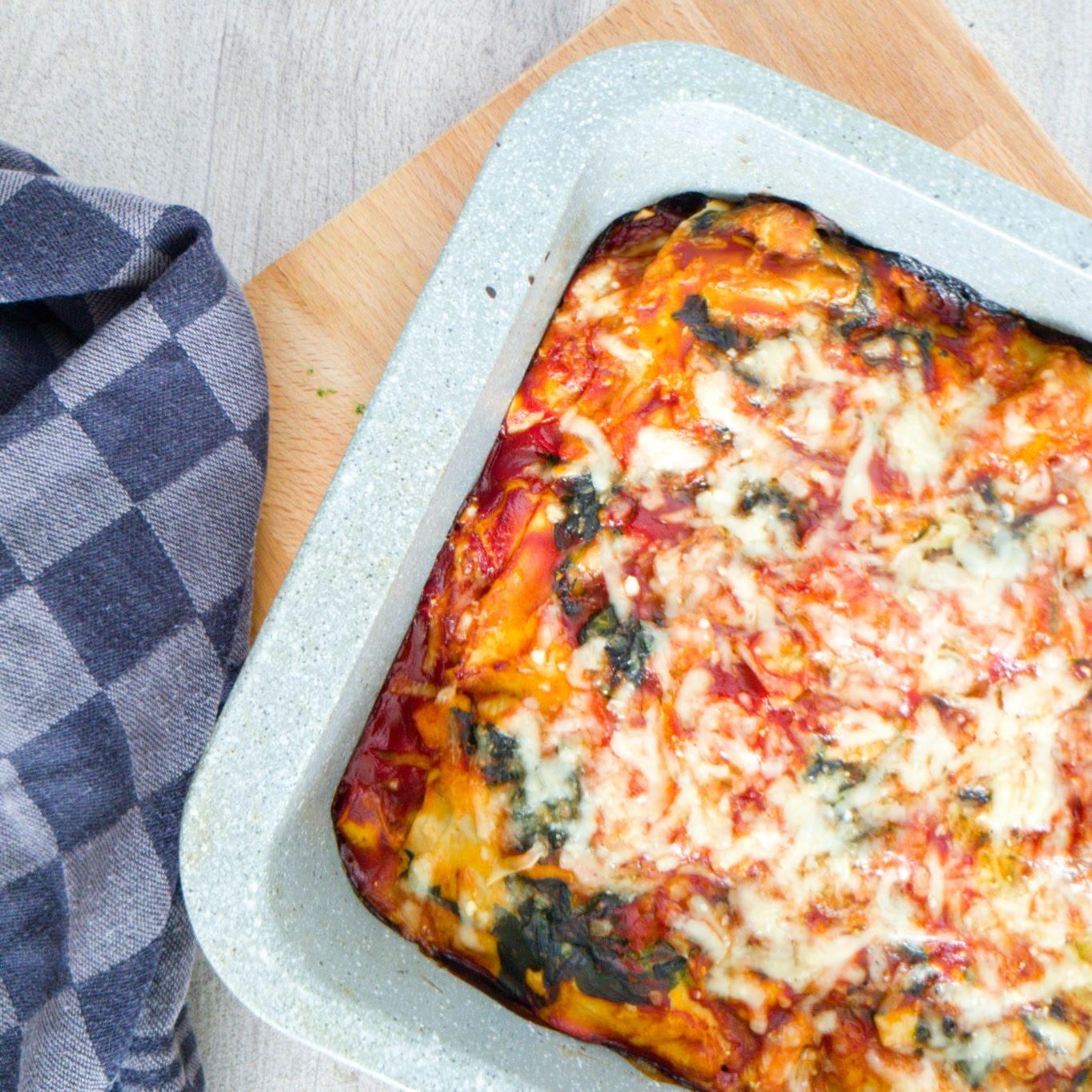 Lasagne Met Kip En Spinazie Kiki Kookt